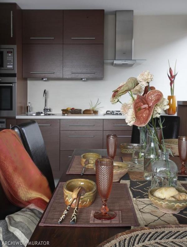 кухня в африканском стиле фото