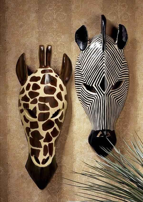 африканские маски дизайн кухни