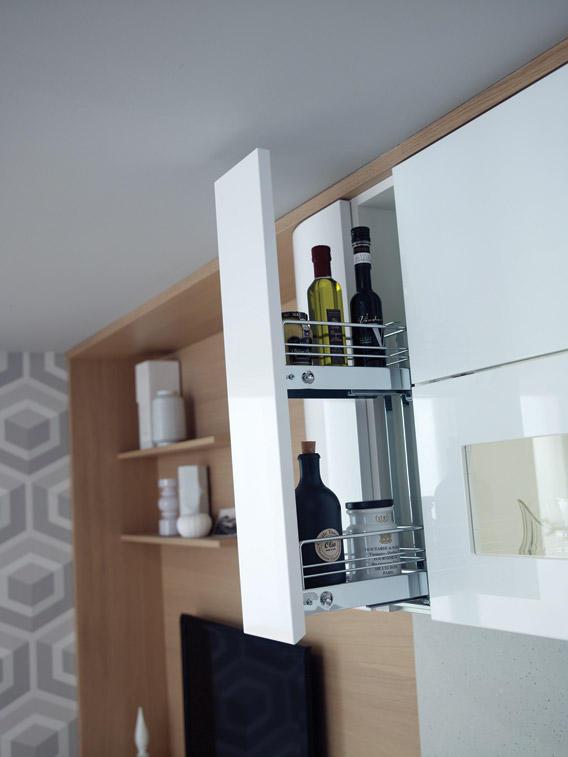 современная белая кухня