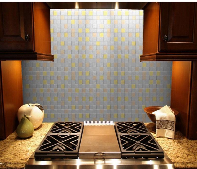 кухонный фартук из плитки-1