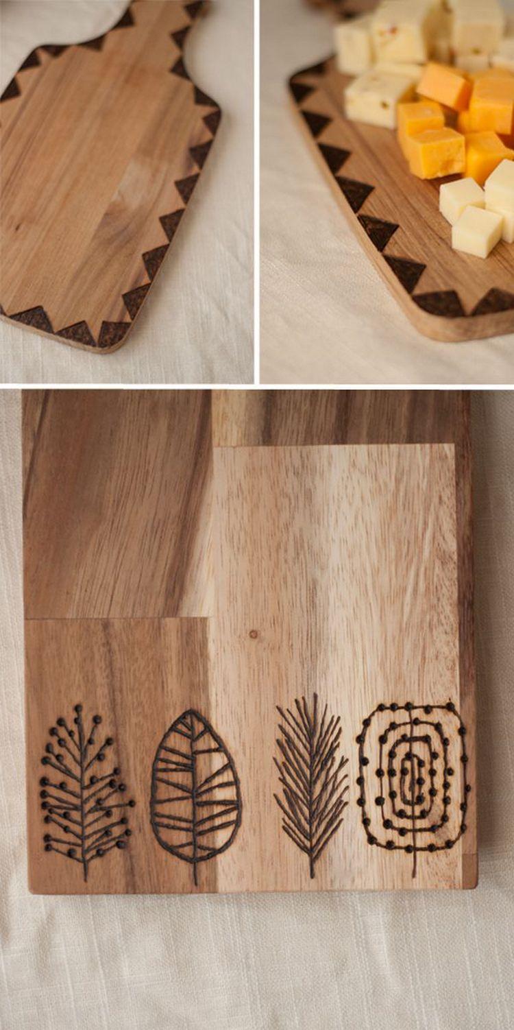 Оригинальные разделочные доски из дерева картинки