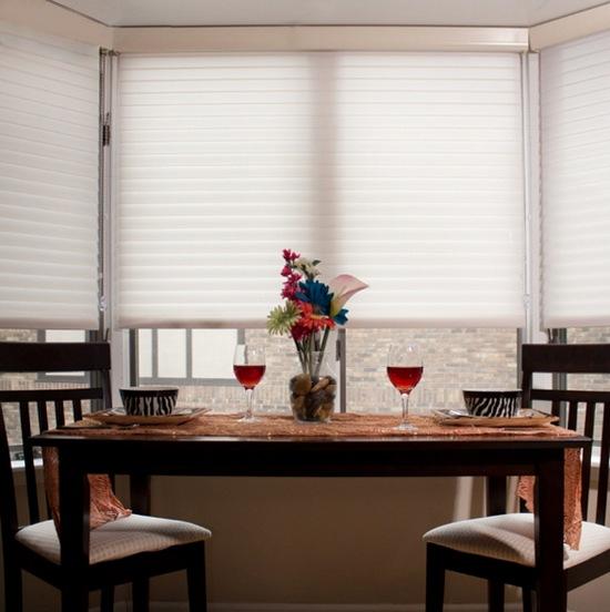 шторы для эркера на кухне-6