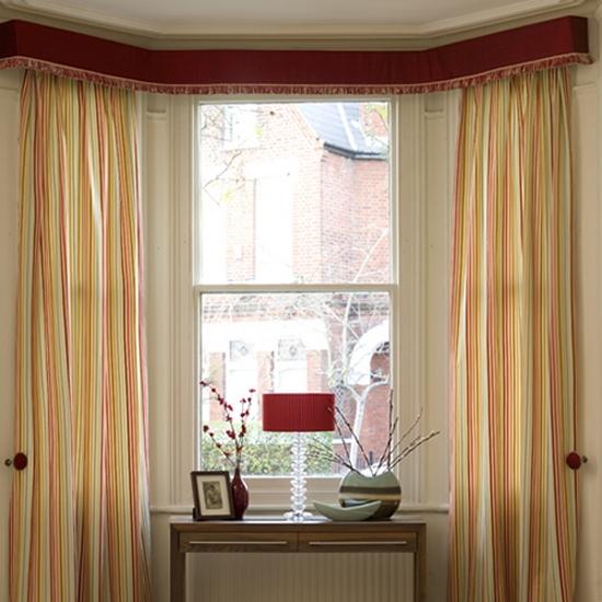 шторы для эркера в гостинной-3