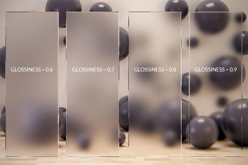 3d max настройки матовое стекло
