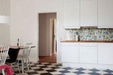 дизайн кухни домино