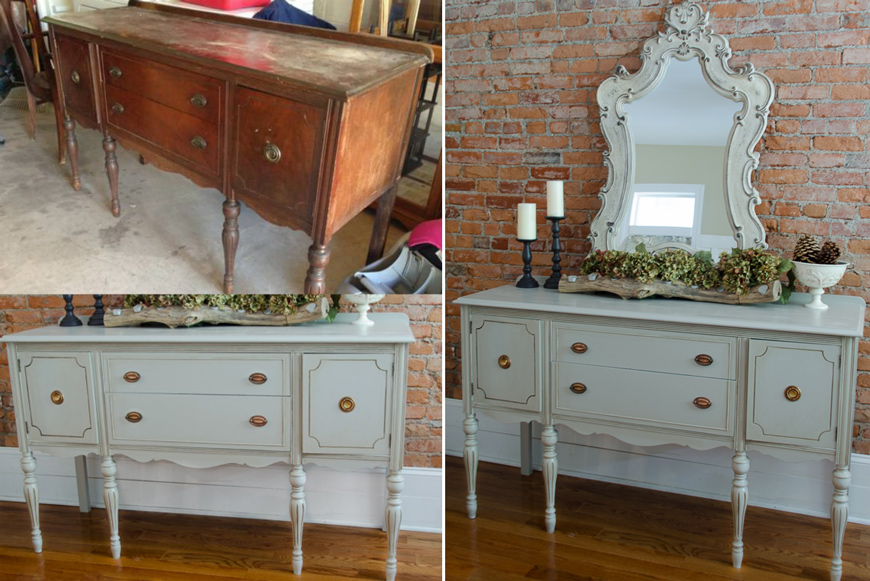Painted-vintage-buffet-1