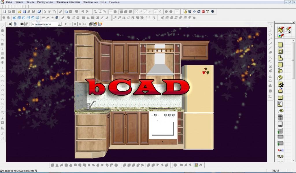 проектирование корпусной мебели в программе Bcad